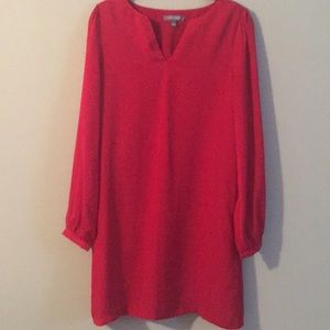 Tinley Road Red Shift Dress